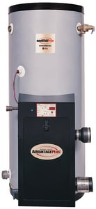 Rheem AdvantagePlus 119 gal 130 MBH Stainless Steel Natural Gas and Propane Commercial Water Heater RHE119130N454382