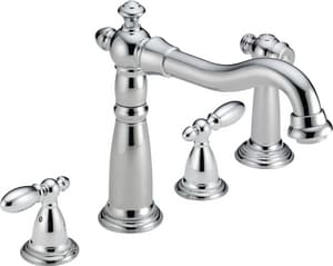Delta Faucet Victorian® Two Handle Widespread Kitchen Faucet in Chrome D2256DST