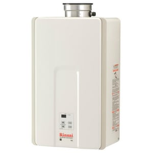 Rinnai HE Series 150 MBH Indoor Non-condensing Natural Gas Water Heater RV65I