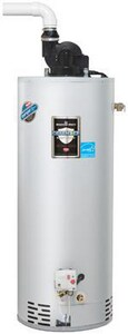Bradford White Defender Safety System® 60 gal. 60,000 BTU High Efficiency Natural Gas Power Vent Water Heater BM4TW60T6FBN