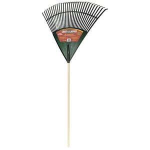 True Temper Greensweeper® Poly Lawn Rake with Wood Handle A1920000