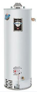 Bradford White Defender Safety System® 40 gal High Efficiency and Tall 40 MBH Plumbing and Residential Natural Gas Water Heater BM440T6FBN