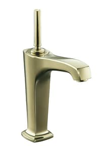 Kohler Margaux® Single Handle Bathroom Sink Faucet in Vibrant French Gold K16231-4-AF