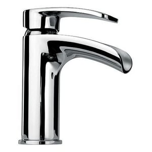 Fortis Brera 1.5 gpm 1-Hole Single Control Waterfall Bathroom Faucet with Single Lever Handle and Pop-Up Drain Assembly in Polished Chrome F92211WFPC