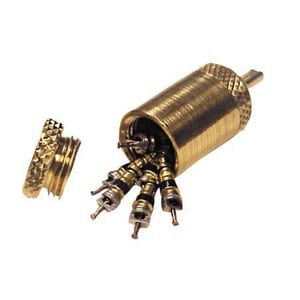 Service Solutions US 1/4 in. Valve Copper Revival Remover with 6-Valve Cores R13145