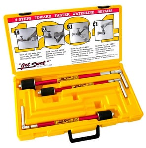 Brenelle Jet Swet™ 1-1/4 - 2 in. Full Plumbing Plug Tools Kit with PVC Carrying Case B4100 at Pollardwater
