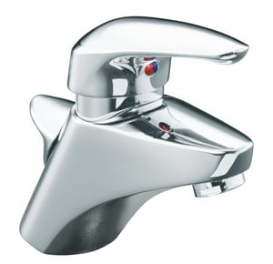 KOHLER Cabriole® 1-Hole Deckmount Lavatory Faucet with Single Lever Handle in Polished Chrome K14616-4-CP