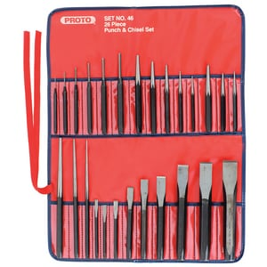 Stanley-Proto Proto® Chisel and Punch 26 Piece PJ46