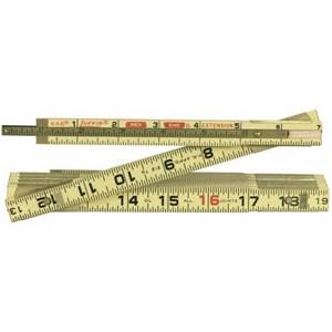 Lufkin 6 ft. Wood Extension Ruler LX46