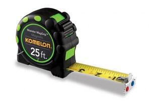 Komelon USA 25 ft. x 1 in. Magnetic Tip Tape Measure K7125
