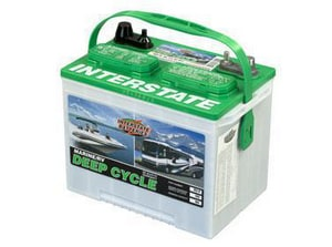 Interstate Deep Cycle Marine Battery >> Interstate Batteries 12 V 6 7 8 In Width Marine Deep Cycle Battery