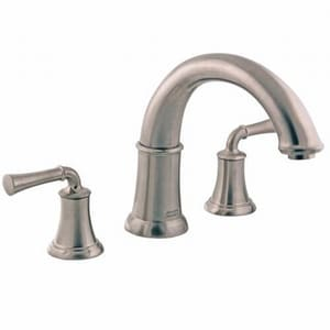 American Standard Portsmouth® Two Handle Roman Tub Faucet in Brushed Nickel A7420900295