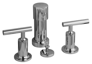 Kohler Purist® Double Lever Handle Vertical Bidet Faucet K14431-4