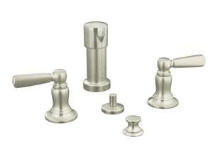 Kohler Bancroft® Double Lever Handle Bidet Faucet K10586-4
