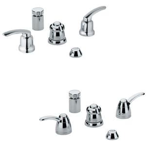 Grohe Talia® 2.2 gpm Bidet Faucet with Vacuum Breaker in Starlight Polished Chrome (Less Handle) G24667000
