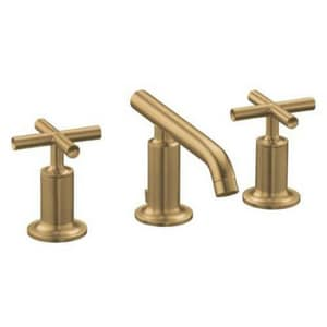 Kohler Purist® Two Handle Bathroom Sink Faucet in Vibrant Brushed Bronze K14410-3-BV