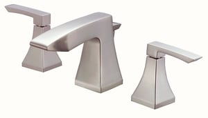 Danze Logan Square™ Widespread Lavatory Faucet with Double Lever Handle DD304036