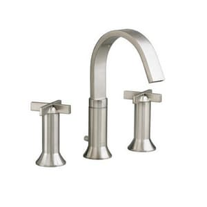 American Standard Berwick® 1.5 gpm 3-Hole Widespread Lavatory Faucet with Double Cross Handle in Satin Nickel - PVD A7430821295