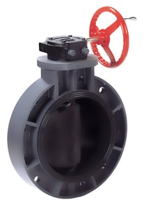 P21 3 in. PVC EPDM Lever Handle Butterfly Valve AP21M