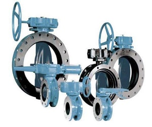 Dezurik BAW Series 42 in. Cast Iron Mechanical Joint Butterfly Valve with EPDM Seat DBAW4200M