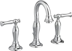 American Standard Quentin® Two Handle Widespread Bathroom Sink Faucet in Polished Chrome A7440801002