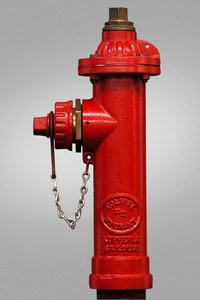 Kupferle, John C Foundry Eclipse™ #2 Red 4 ft. FIP x NST Assembled Fire Hydrant K2425MJP