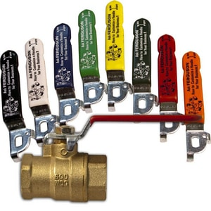 Figure 410A 1-1/4 in. Brass Full Port Threaded 600# Ball Valve LIN291151