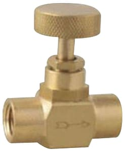 1/4 in. Brass FNPT Needle Valve M110025B