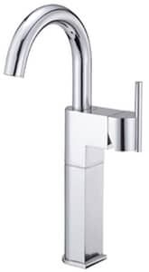 Danze Como™ 1-Hole Vessel Filler Faucet with Single Lever Handle in Polished Chrome DD201542