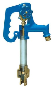 Simmons Manufacturing 800LF Series 1 ft. 6 in. Cast Iron and Polyester FNPT x MHT Not Approved for Potable Water Applications Yard Hydrant SI801
