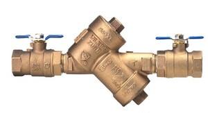 Zurn Wilkins 950XL 2 in. Cast Bronze Threaded 175 psi Backflow Preventer W950XLSK