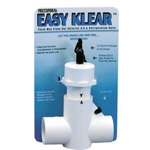 Rectorseal Easy Klear™ 12 in. 3-Way Clean-Out Valve REC97585