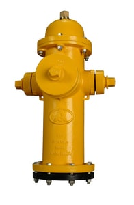 American Flow Control American Darling® B-84-B 7 ft. Mechanical Joint Assembled Fire Hydrant AFCB84BLAOL