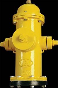 American Flow Control-Acipco American Darling® B-62-B 5 ft. Mechanical Joint Assembled Fire Hydrant AFCB62BLAOLSFB