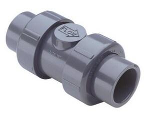 True Union - Regular 2-1/2 in. PVC Socket Check Valve S2222