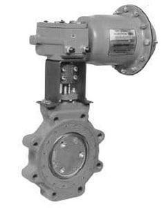 Jamesbury Series 815 12 in. Carbon Steel Xtreme Lever Handle Butterfly Valve J815L112236XZ12