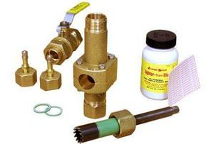 Jomar International Add-A-Valve® Forged Brass Sweat Valve Kit J80010ADD