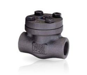Bonney Forge 1 in. Forged Steel Socket Weld Check Valve BHL41SWG