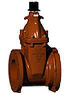 American AVK Co. 4 in. Mechanical Joint Cast Iron Open Left Resilient Wedge Gate Valve A2510007091
