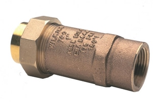 Zurn Wilkins Model 700XL 1/2 in. Bronze FNPT 175 psi Backflow Preventer W12UFX12F700