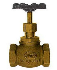 United Brass Works 2 in. 200# Bronze Globe Valve U125SK