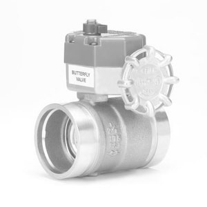 Milwaukee Valve Not For Potable Use 2 175# Grooved SLO Butterball Valve Less Switch MBBVSC100K
