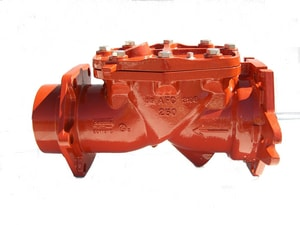 American Flow Control-Acipco Series 2100 6 in. Ductile Iron Flanged Check Valve AFC2106NA29MG