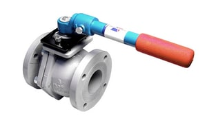 4000 Series 2-1/2 in. Ductile Iron Flanged 300# Ball Valve A4000DL