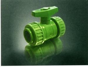 Aquatherm Green Pipe® 3/4 in. Polypropylene Full Port Socket Weld Ball Valve A0041390