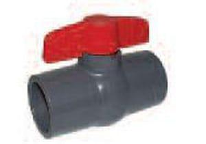 Legend Valve & Fitting S-602 1-1/2 in. PVC Full Port Solvent Weld 150# Ball Valve L20143