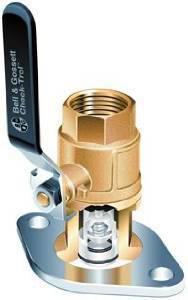 ITT-Bell & Gossett Check-Trol™ 3/4 in. NPT Isolation Check Valve & Flange B101231LF