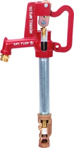 Merrill Manufacturing Any Flow® 5 ft. Brass and Steel NPT x Threaded Not Approved for Potable Water Applications Yard Hydrant MAF7506