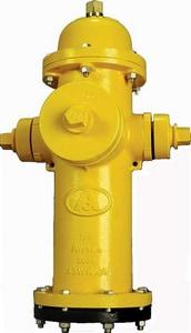 American Flow Control American Darling® B-84-B 5 ft. Mechanical Joint Assembled Fire Hydrant AFCB84BLAOLSYSZ