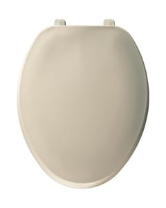 Bemis Hex-Tite® Elongated Closed Front Toilet Seat in Almond B170146